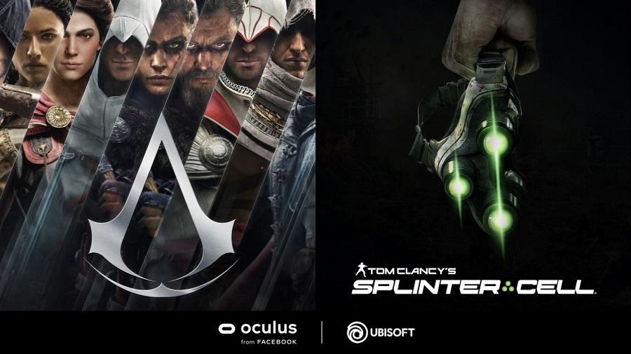 assassin's creed VR splinter Cell VR